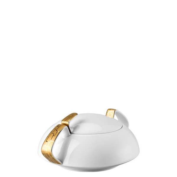 Vegetable Bowl, Covered, 54 ounce | Rosenthal TAC 02 Skin Gold