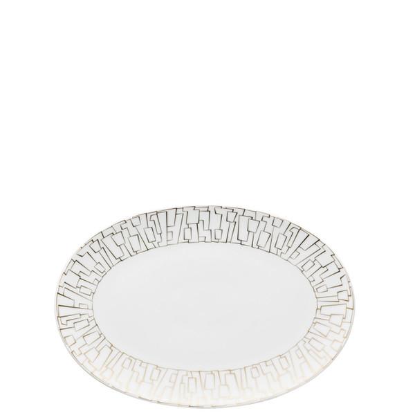 Platter, 10 inch | Rosenthal TAC 02 Skin Gold