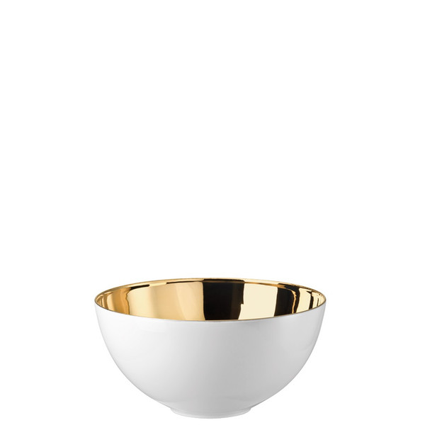 Vegetable Bowl, Open, 7 1/2 inch, 57 ounce | Rosenthal TAC 02 Skin Gold