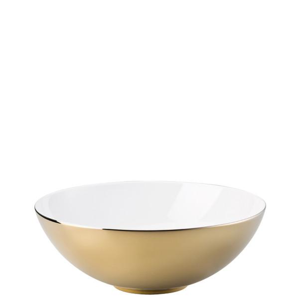 Vegetable Bowl, Open, 10 1/4 inch | Rosenthal TAC 02 Skin Gold