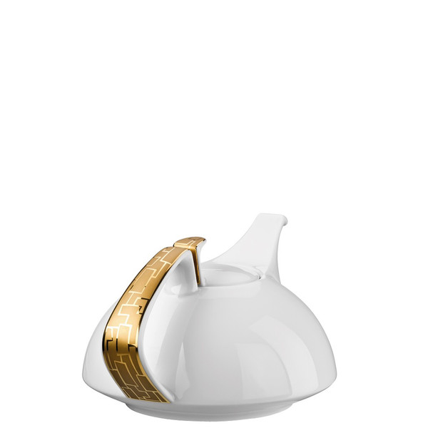 Tea Pot, 46 ounce | Rosenthal TAC 02 Skin Gold