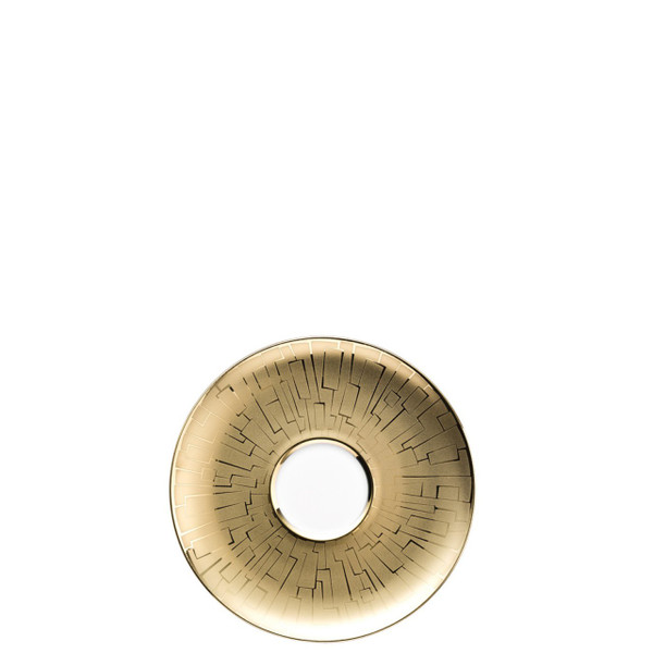 Combi Saucer | Rosenthal TAC 02 Skin Gold