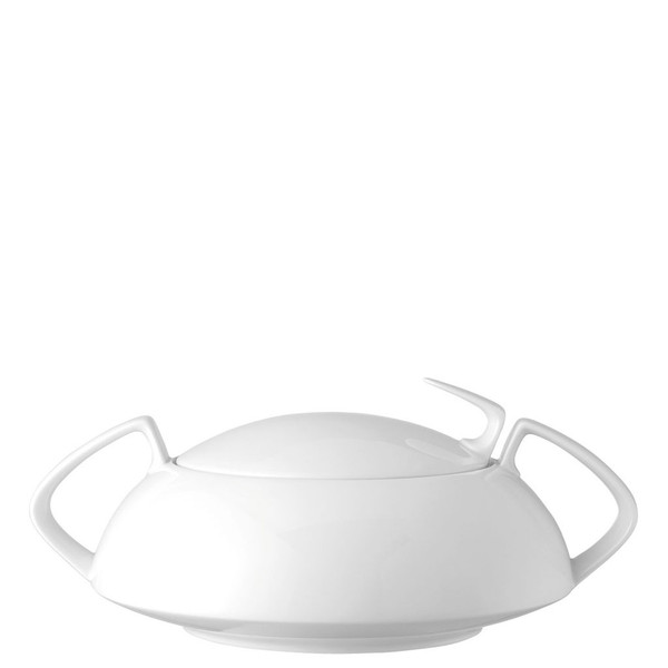 Vegetable Bowl, Covered, 54 ounce | Rosenthal TAC 02 White