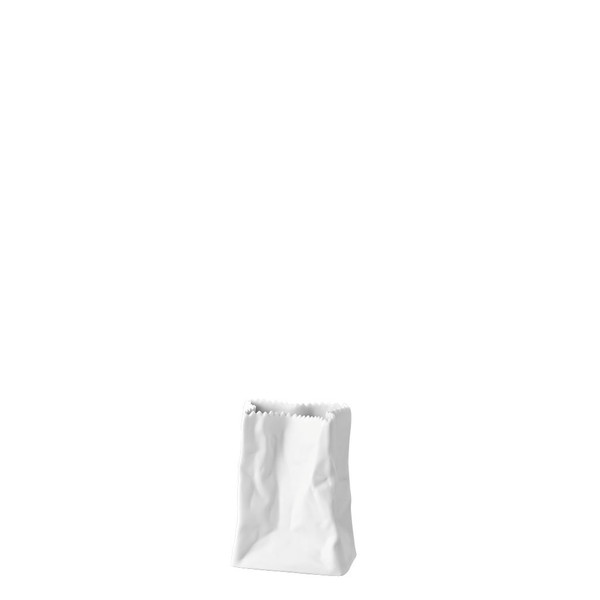 write a review for Bag Vase White ('Tütenvase) Mini Vase, 3 1/2 inch | Rosenthal Mini Vase