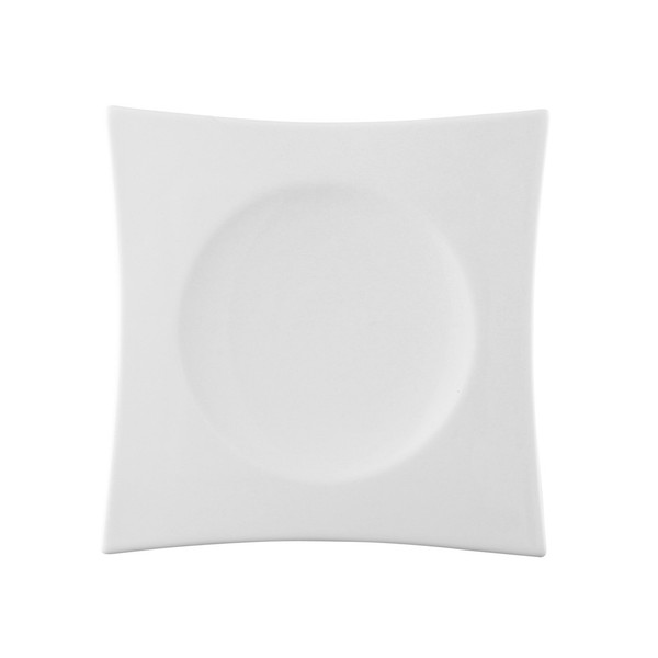 Accent Plate, Square, 8 inch | Rosenthal Suomi White