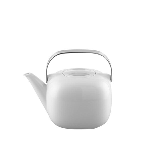 Tea Pot, 45 ounce | Rosenthal Suomi White
