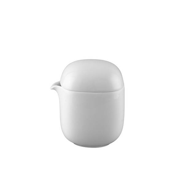 Creamer, Covered, 6 1/2 ounce   Rosenthal Suomi White