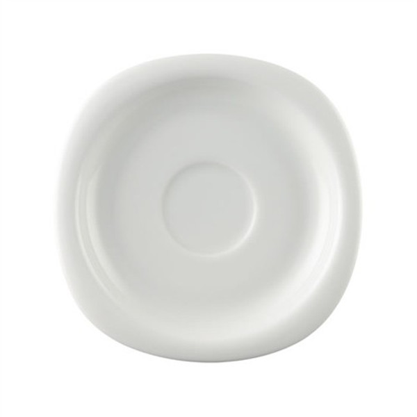 Saucer, Low/Tea, 6 1/2 inch | Rosenthal Suomi White