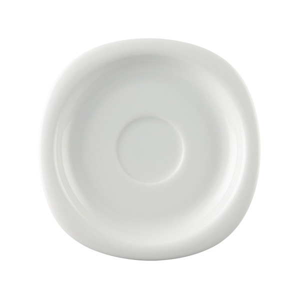 Saucer, High/Coffee, 6 1/2 inch | Rosenthal Suomi White