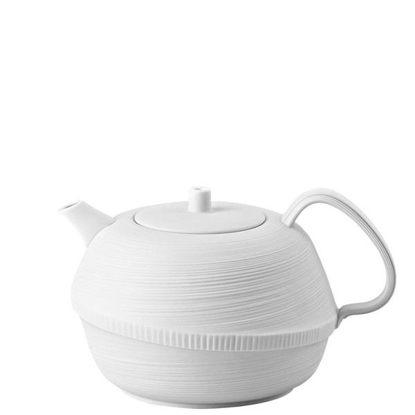 Tea Pot, 37 ounce | Rosenthal Papyrus White