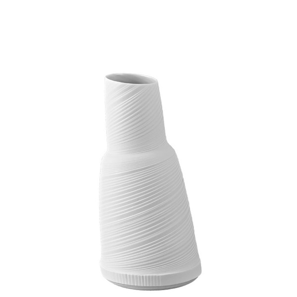Vase/Decanter, 9 1/2 inch | Rosenthal Papyrus White