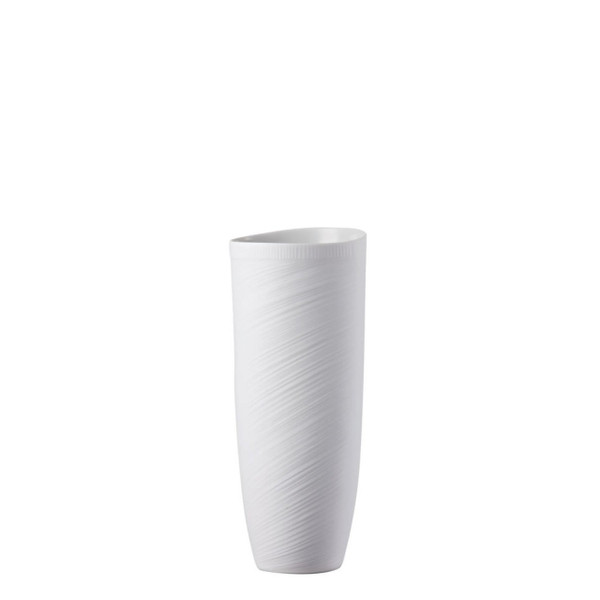Vase, 10 1/2 inch | Rosenthal Papyrus White