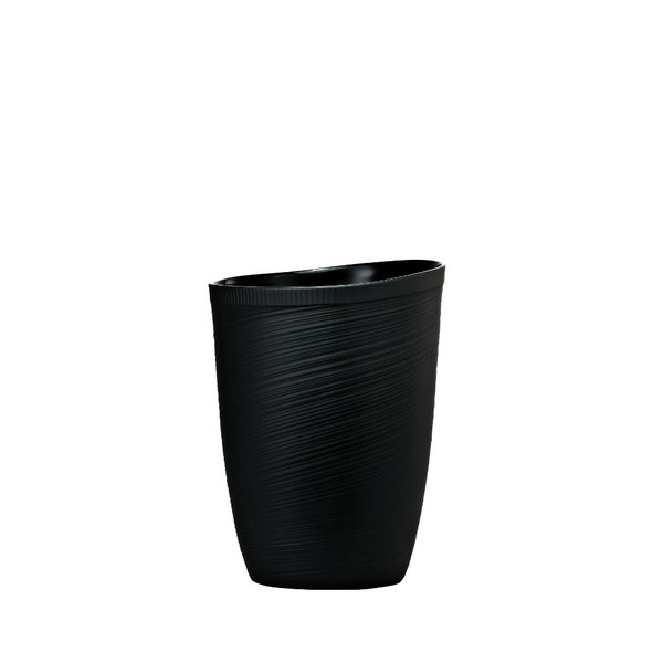 write a review for Black Vase, 9 inch | Rosenthal Papyrus