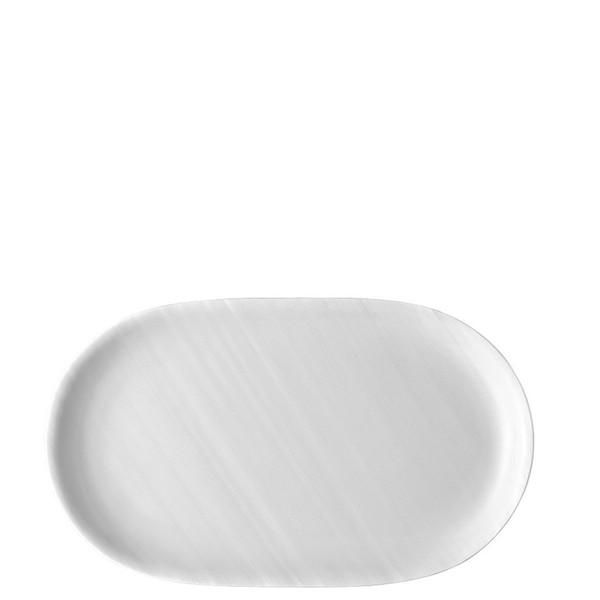 Platter, 11 inch | Rosenthal Papyrus White