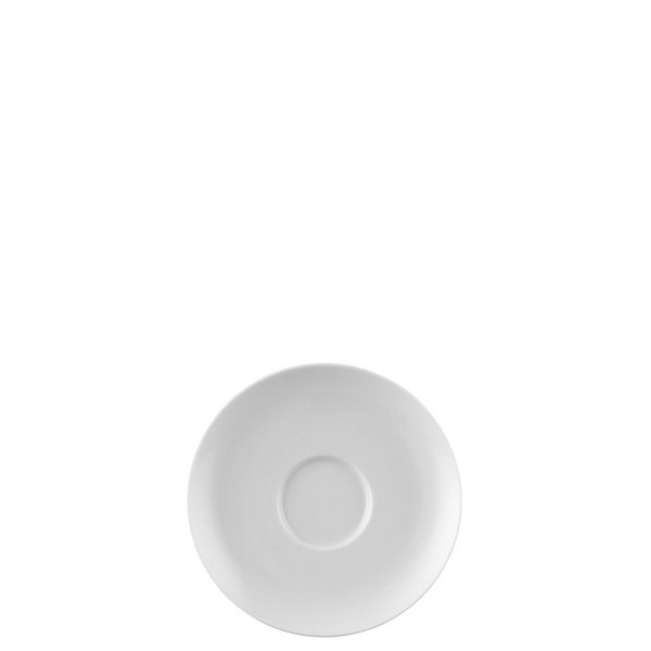Saucer, High/Coffee, 5 2/3 inch | Rosenthal Moon White