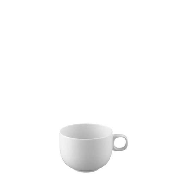 Cup, High/Coffee, 7 ounce   Rosenthal Moon White