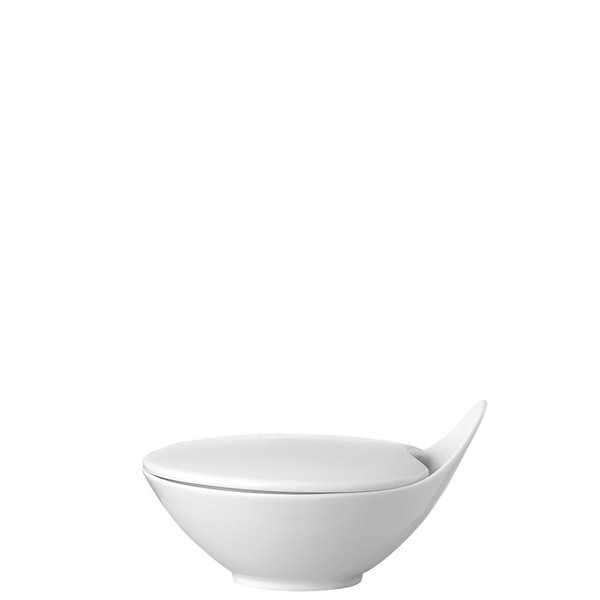 Sugar Bowl, Covered, 5 ounce | Rosenthal Free Spirit White