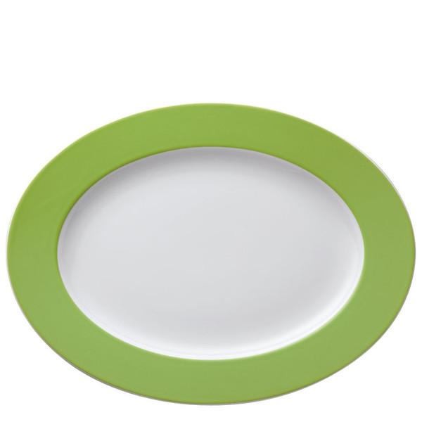 Platter, 13 inch | Thomas Sunny Day Apple Green