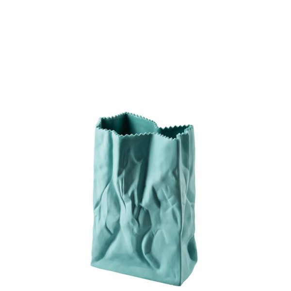 write a review for Paper Bag Vase, 7 inch | Rosenthal Bag Vase