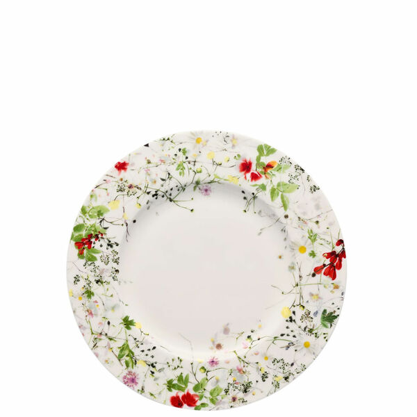 Salad Plate, rim, 9 inch | Rosenthal Brillance Fleurs Sauvages