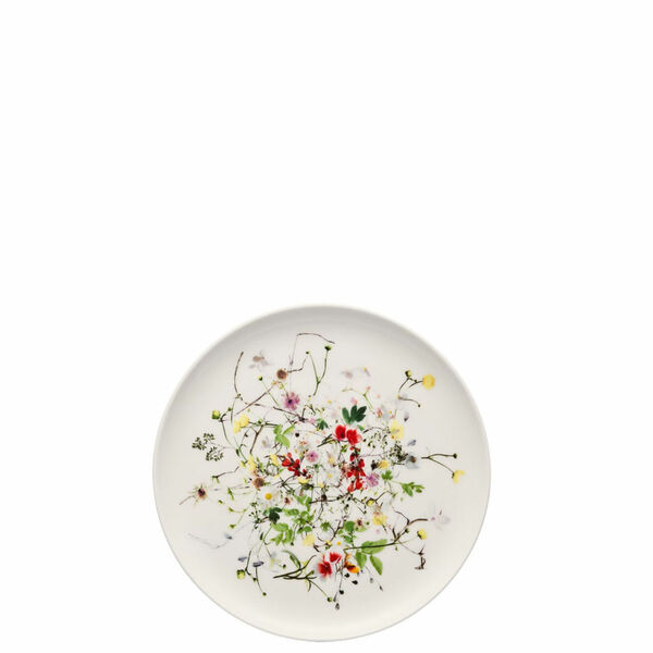 Bread & Butter Plate, coupe, 7 inch | Rosenthal Brillance Fleurs Sauvages