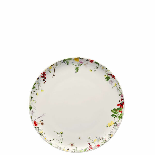 Salad Plate, coupe, 8 1/4 inch | Rosenthal Brillance Fleurs Sauvages
