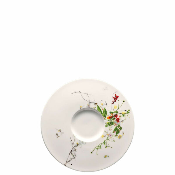 Creamsoup Saucer | Rosenthal Brillance Fleurs Sauvages