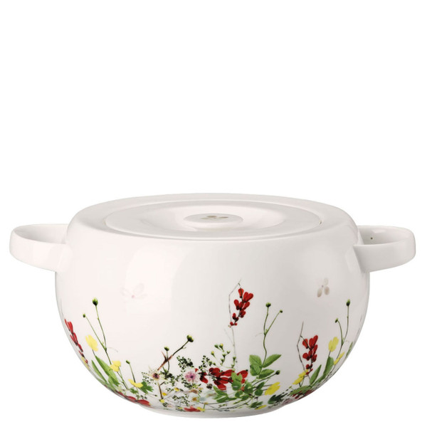 Vegetable Bowl, covered | Rosenthal Brillance Fleurs Sauvages