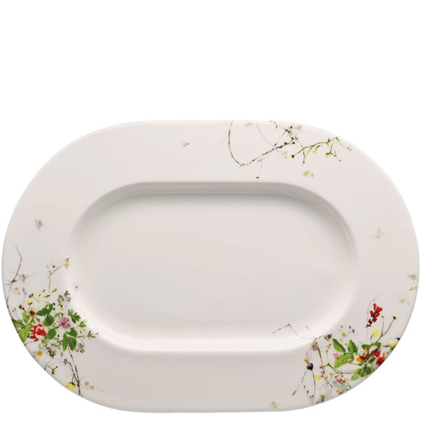Platter, 13 1/2 inch | Rosenthal Brillance Fleurs Sauvages