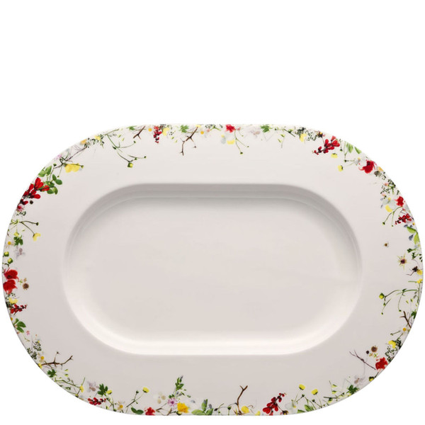 Platter, 16 inch | Rosenthal Brillance Fleurs Sauvages