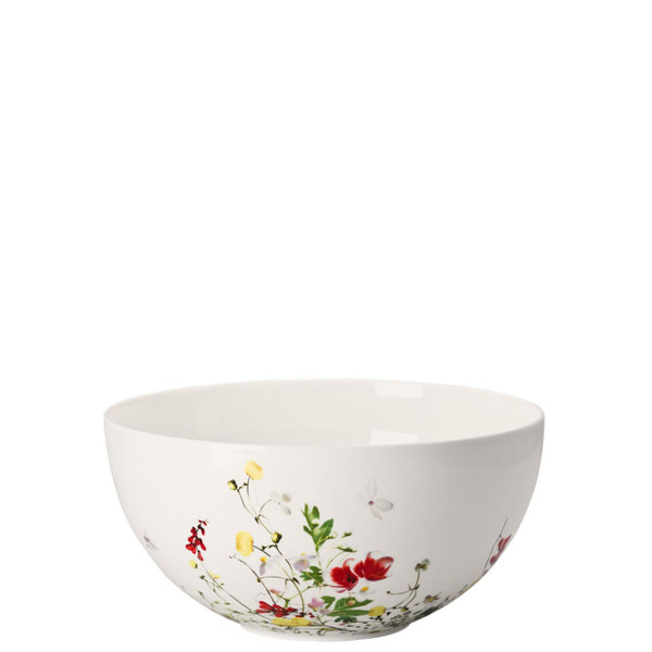 Vegetable Bowl, open, 8 1/2 inch | Rosenthal Brillance Fleurs Sauvages