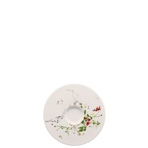 Coffee Saucer | Rosenthal Brillance Fleurs Sauvages