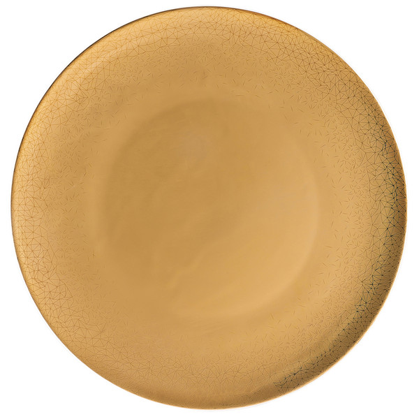 Service Plate, 13 inch | Rosenthal TAC Palazzo Gold