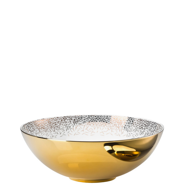 Vegetable Bowl, open, 10 1/4 inch, 98 ounce | Rosenthal TAC Palazzo Gold