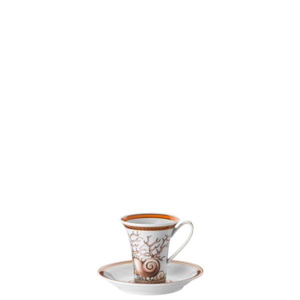Espresso Cup & Saucer, 5 inch, 3 ounce | Etoiles de la Mer