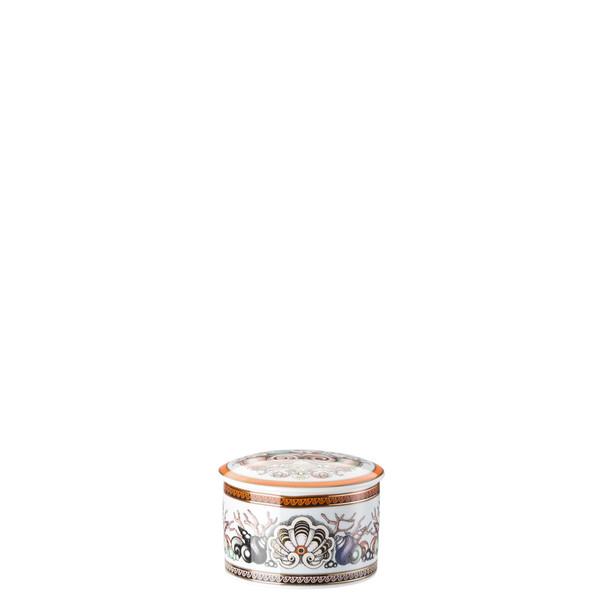Box, covered, 3 1/4 inch | Versace Etoiles de la Mer