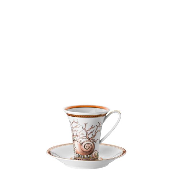 Coffee Cup & Saucer, 6 inch, 6 ounce | Etoiles de la Mer