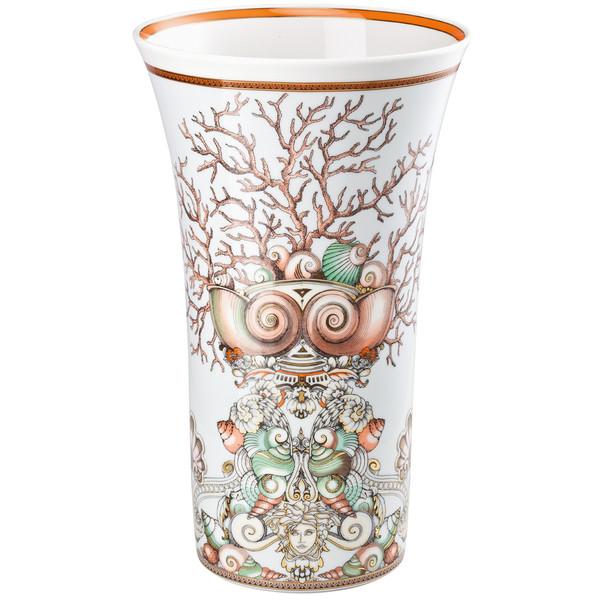 Vase, 13 1/2 inch | Versace Etoiles de la Mer