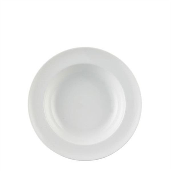 Rim Soup Bowl, round, 9 inch | Thomas Vario White