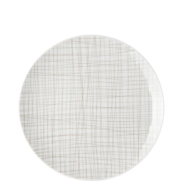Dinner Plate, 10 1/2 inch | Rosenthal Mesh Lines Walnut