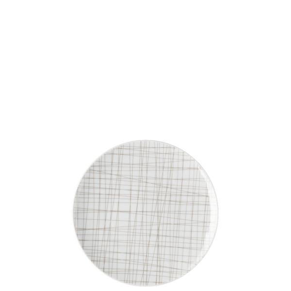 Bread & Butter Plate, 6 2/3 inch | Rosenthal Mesh Lines Walnut