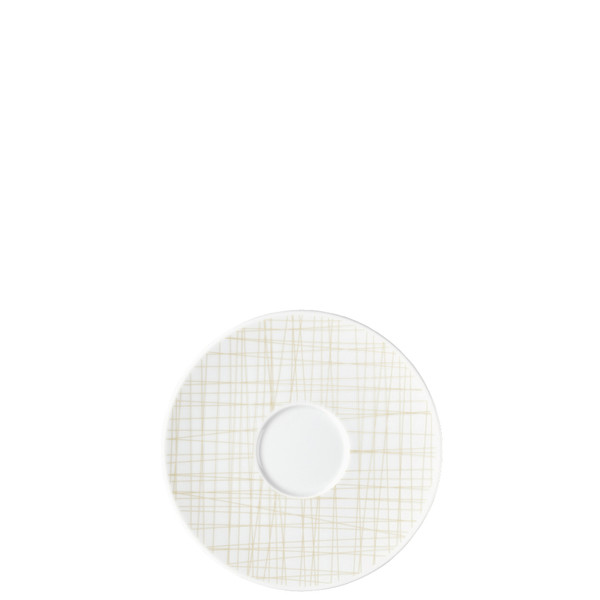 Combi Saucer, 6 1/4 inch | Rosenthal Mesh Lines Cream