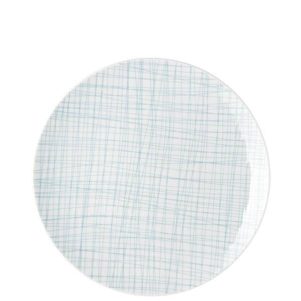 Dinner Plate, 10 1/2 inch | Rosenthal Mesh Lines Aqua