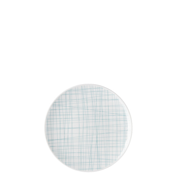 Bread & Butter Plate, 6 2/3 inch | Rosenthal Mesh Lines Aqua