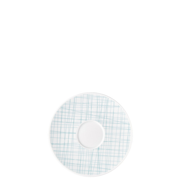 Combi Saucer, 6 1/4 inch | Rosenthal Mesh Lines Aqua