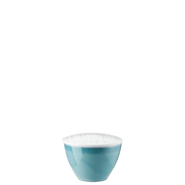 Sugar Bowl | Rosenthal Mesh Lines Aqua