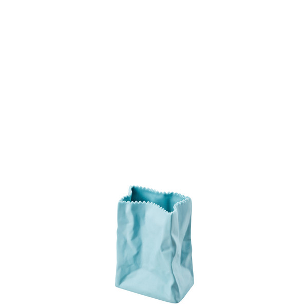 write a review for Vase, Azur, 4 inch | Rosenthal Paper Bag Vase