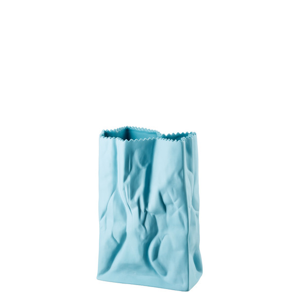 write a review for Vase, Azur, 7 inch | Rosenthal Paper Bag Vase