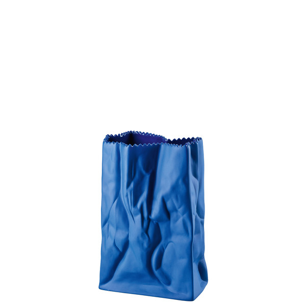 write a review for Vase, Deep Blue, 7 inch | Rosenthal Paper Bag Vase