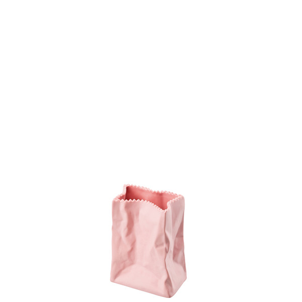 Vase, Rose, 4 inch   Rosenthal Paper Bag Vase